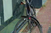 Bike with Bent Wheel