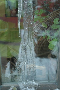 Icicle Painting